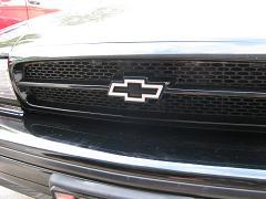 White LED Chevy Bowtie