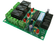 3 Channel DMX Relay Kit KDR00301