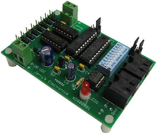 Jerry's Electronics KDS00801 DMX Servo Control Kit