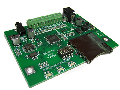 JEMP3 MP3 Audio Player Board